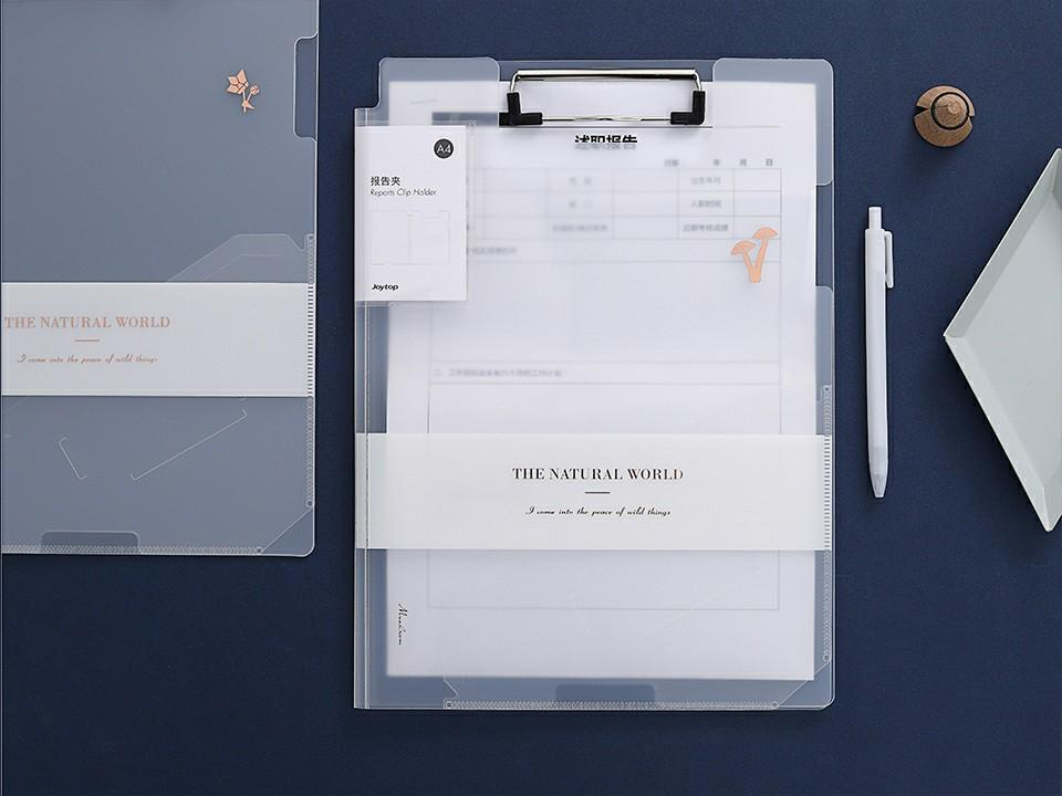 The Natural World Document Clipboard Folder A4