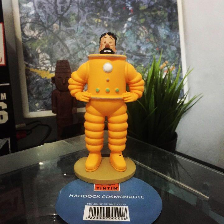 Tintin cosmonaute W/ haddock & snowy