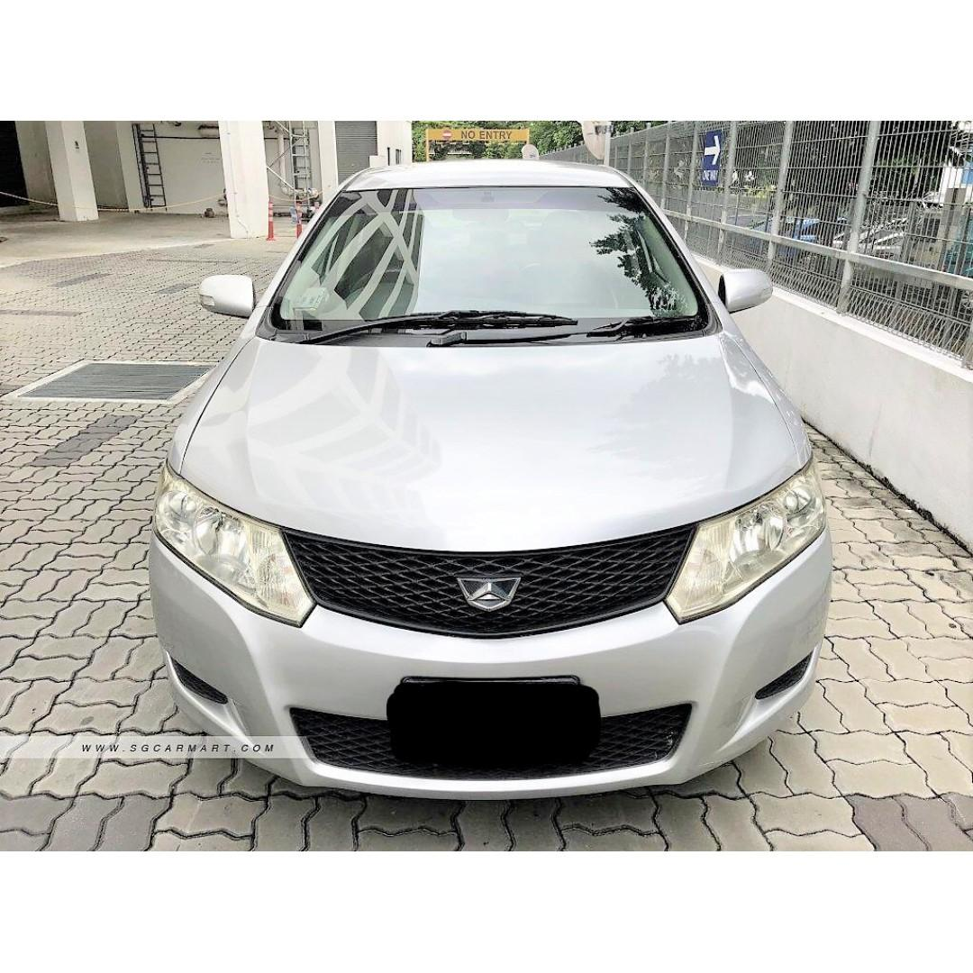 Toyota Allion 1.5A For PHV Grab Go Jek/Personal use In good condition Cheap rental car