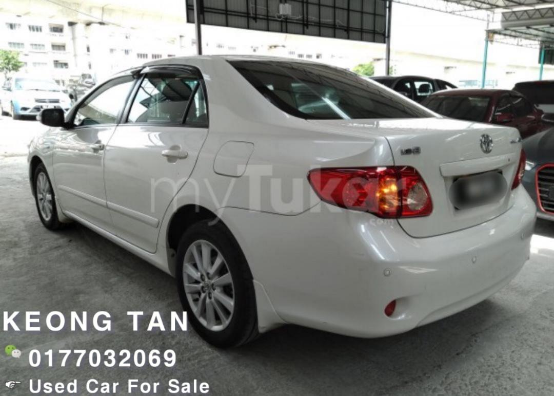TOYOTA ALTIS 1.8AT E SPEC 2010TH Add Full Bodykit💲Cash OfferPrice!! Rm37,800🎉  MONTHLY Rm619 Only!!🎉