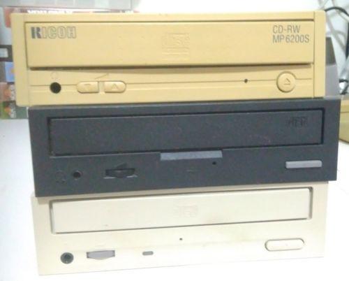 Vintage Plextor, TEAC and RICOH Amiga / Macintosh SCSI CD-ROM drive