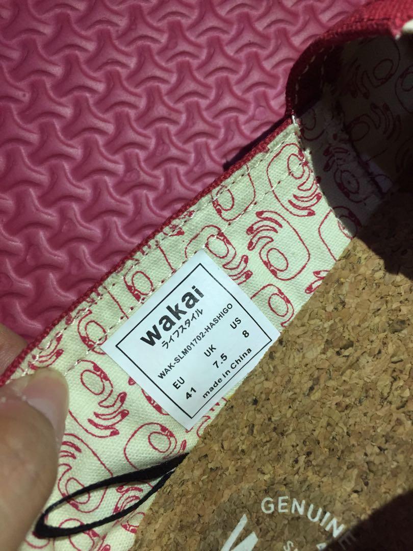 SALE!!! Like New Wakai Shoes Original uk 41