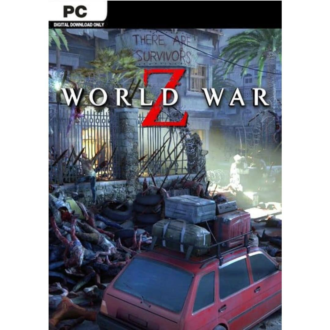 World War Z (PC) [Redeem on EPIC Games Launcher], Everything