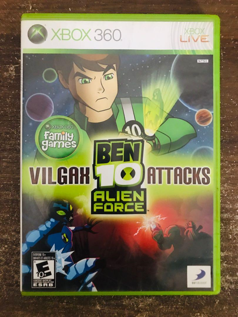 Xbox 360 Ben 10 Alien Force Game Video Gaming Video Games On Carousell