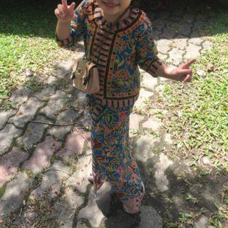 Batik Kebaya (stewardess kebaya)