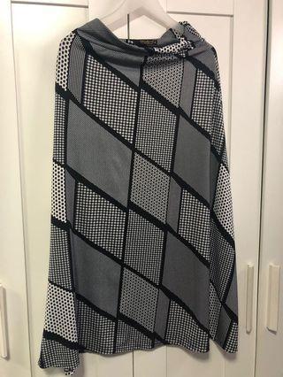 Preloved Jersey Long Skirt