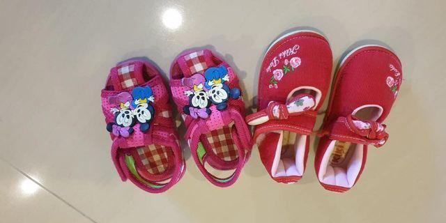 Baby girl shoes for 2 pairs