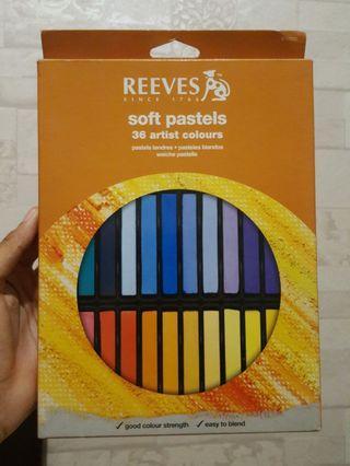 ORIGINAL Reeves Soft Pastels 36 warna