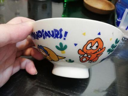 Sanrio 恐龍陶瓷碗