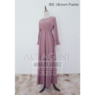 IRIS DRESS / JUBAH MURAH