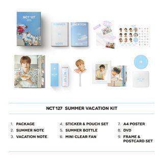 [sharing/paid] NCT 127 Summer Vacation Kit
