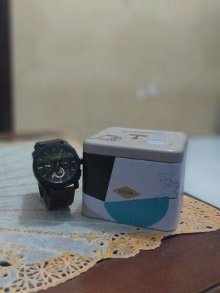 Jam tangan kulit fossil fs 4656