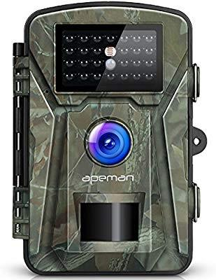 "🚚 APEMAN Trail Camera 12MP 1080P 2.4"" LCD Game&Hunting Camera with 940nm Upgrading IR LEDs Night Vision up to 65ft/20m IP66 Spray Water Protected Design"
