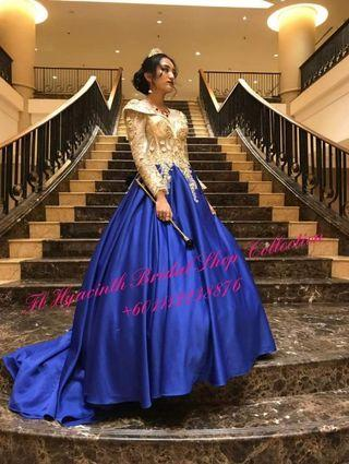 Ball Gown Exact Customers Picture RENT