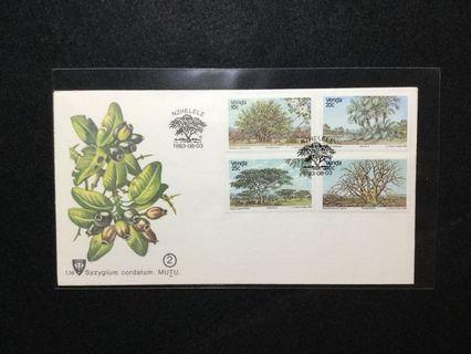 1983 Venda (South Africa) Indigenous Trees Of Venda (Series 2) FDC #MGAG101