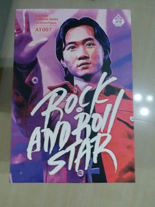 二手 Ace Toyz Guitarist Series 1/6 Action Figure Beyond 黃家駒 Rock &Roll Star