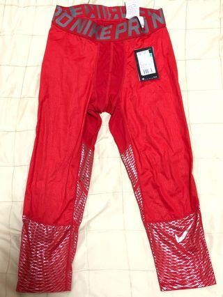 Nike pro運動緊身褲XL