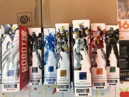 Robot 魂:飛翼高達, 飛翼cw, 死神, 神龍, 沙漠, 重炮手, leo
