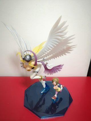 🚚 DIGIMON angewoman and yagami hikari 1/8 figure