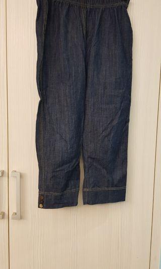 8happy女版休閒牛仔legging八分褲