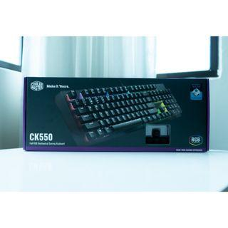 Cooler Master CK550 | RGB Mechanical Gaming Keyboard