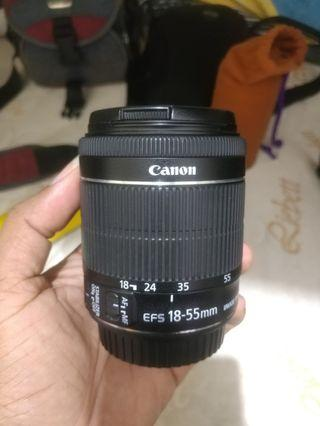 Modified canon EF-S 18-55mm  IS STM