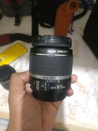 Canon EF-S 18-55mm IS lens