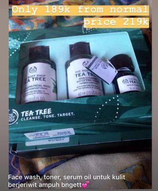 Tea tree Travel Pack The Body Shop Original