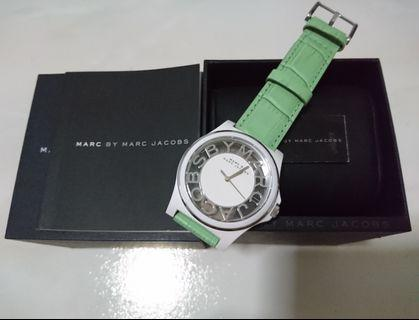Marc Jacobs Leather Strap 42mm Diameter MBM4015 (Authentic)