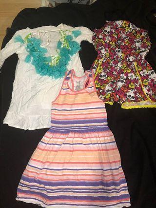 Kids girl clothing size 7-8 small medium