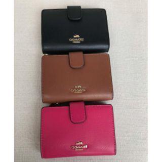Authentic Coach Unisex Wallet & Cardholder Mono colour and minimalistic design