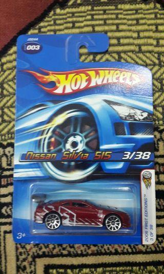 Hotwheels Nissan Silvia Red 1st Edition