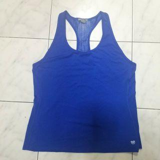 Forever 21 blue gym tank top