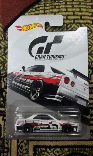 Hotwheels Gran Turismo Nissan Skyline R34