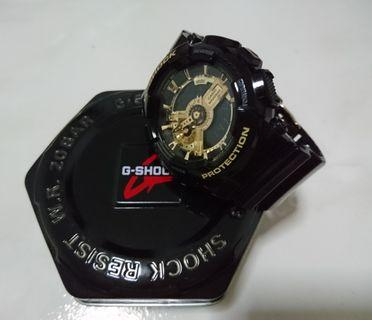 G-Shock Black - Gold GA-110GB 51mm Diameter (Authentic)