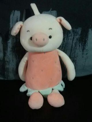 Sales! Last Medium Size Strawberry Pig Plushie.