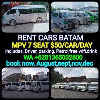 RENT CARS With DRIVER BATAM (http://www.wasap.my/+6281365032800/Hallo,yunas