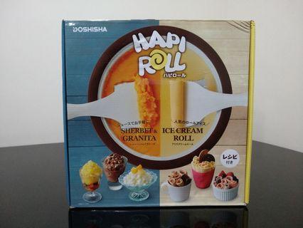 日本人氣新玩意 HAPIROLL 家用炒雪糕鍋