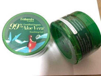 BN 99% Certified Organic Aloe Vera Soothing Gel
