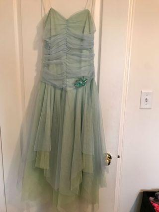 Pretty Tinkerbell-Inspired Dress