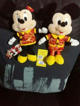 Cute Quality Disney Minnie Mouse & Mickey Mouse. Selling 2 for $48.