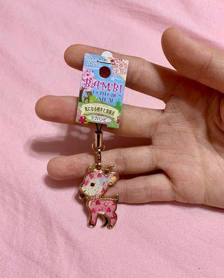 Japan deer keychain