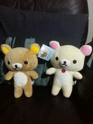 Sales! Cute Rilakkuma & Korilakkuma Plushie