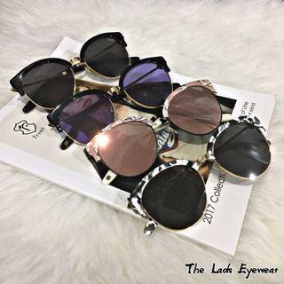Front - Heart Free Sunglasses