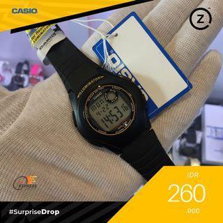 TERLARIS CASIO F-200 NAVY / BLACK