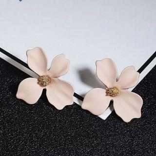 Flower Small Earrings Old Rose