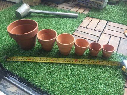 🚚 Terracotta pots for sale