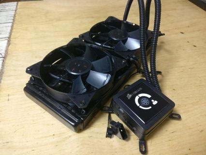 corsair h100 liquid cooling 一體式水冷散熱
