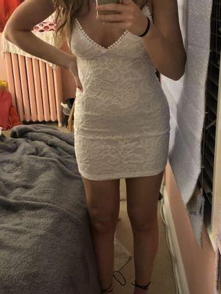 Forever 21 white dress size small