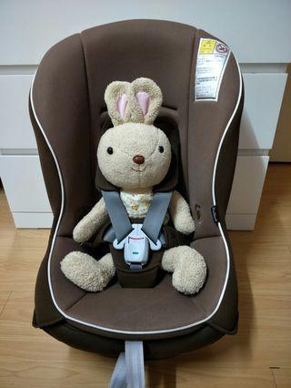 日本 康貝 COMBI  coccoro s EG輕量型安穩安全座椅 汽座 0~4歲